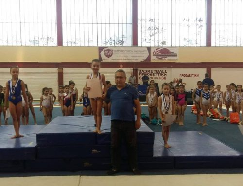 Ενόργανη Γυμναστική: Τελική Φάση Αγώνων Νότου Παμπαίδων-Παγκορασίδων