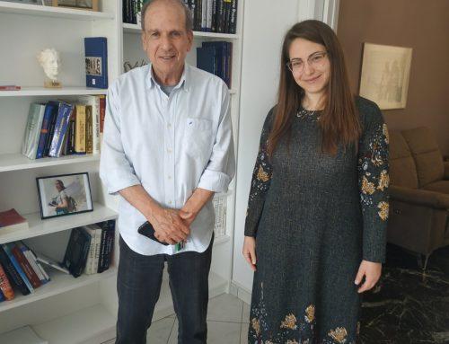Έναρξη Συνεργασίας ΠΑΝΙΩΝΙΟΥ Γ.Σ.Σ. με την Παθολόγο Ισμήνη Γρίβα
