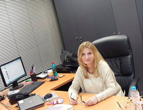 Υποψήφια στις εκλογές της Ε.Γ.Ο. η κα Δήμα Κωνσταντίνα